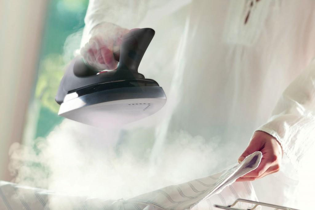 Limpieza total con vapor