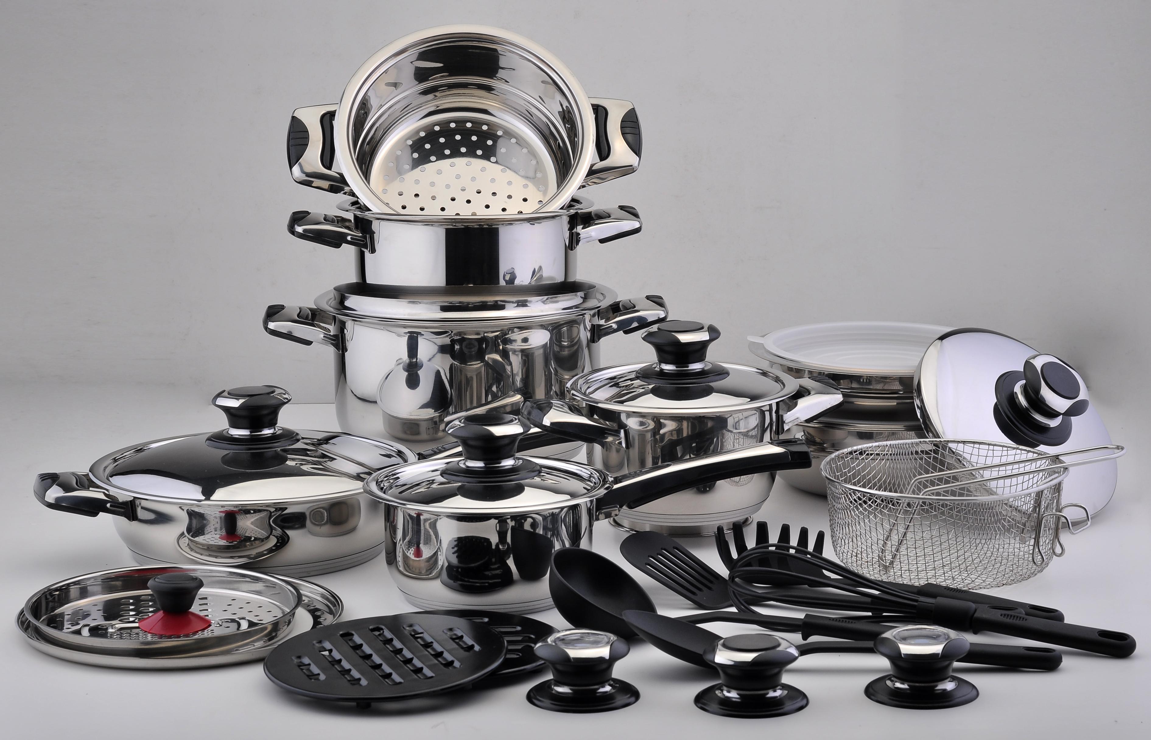Bater a de cocina de 30 piezas joal for Iber baterias de cocina